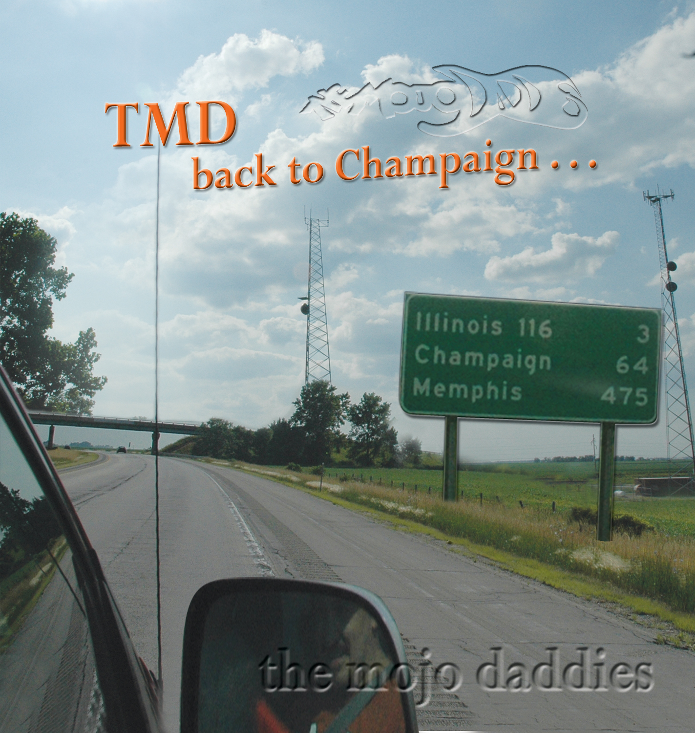 Back to Champaign cover art by Tracey Campbell